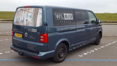bedrijfsbus auto-belettering almere