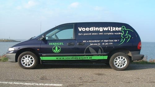 Autoreclame-op-SUV almere
